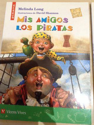 Libro Mis Amigos Los Piratas