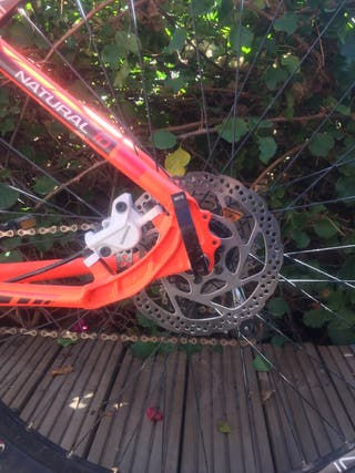 Bicicleta btt montanya. Megamo natural 10