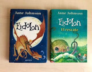 Libro Eidolon novela juvenil