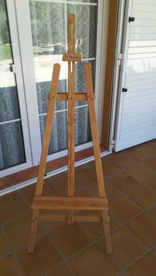 Caballete de madera (pintura)