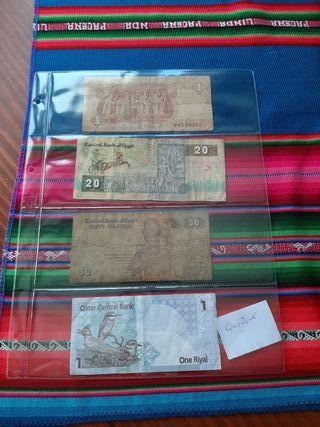Intercambio de billetes del mundo