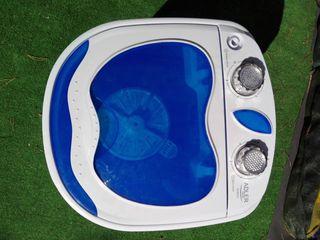 Lavadora camping 3kg con centrifugado de 1kg