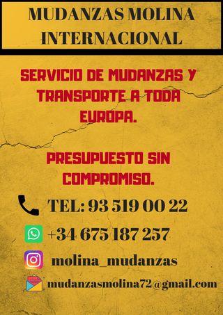 Mudanzas Molina Internacional nacional