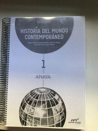 Libro Historia 1 Bachillerato