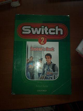 Libro de ingles oxford switch 2° de eso