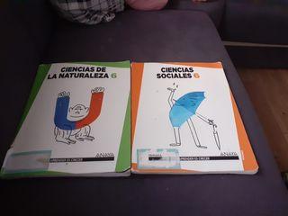 libros sexto primaria