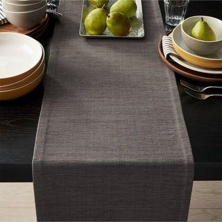 Camino de mesa lino topo + 8 servilletas ¡nuevo!