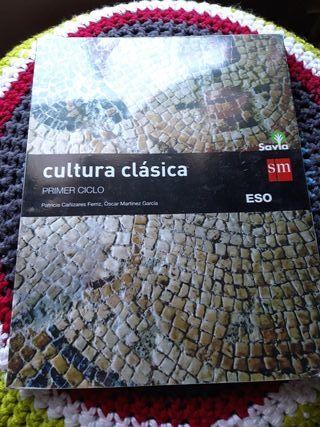 Libro de Cultura Clásica ESO