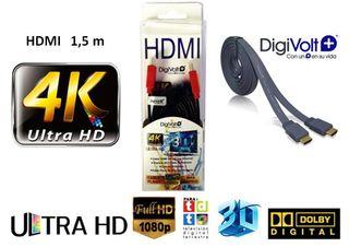 Cable HDMI plano de alto rendimiento DIGIVOLT