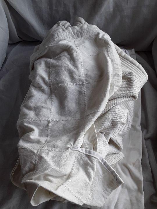 set judogi pantalón chaqueta talla 3 segunda mano