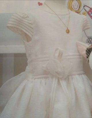 vestido de comunión talla 115