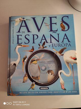 Atlas de las Aves de España y Europa