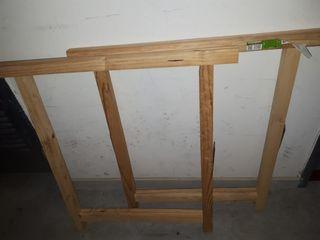 Caballetes de pintura de madera