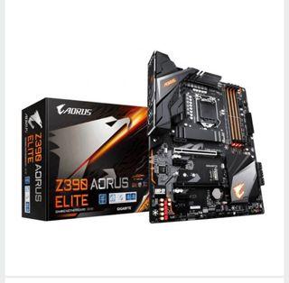 Placa base gaming Z390 AORUS ELITE