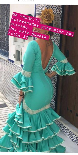 vestido de gitana talla38