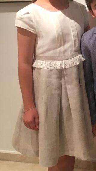 vestido niña tizzas 10/12 años