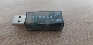 Tarjeta de sonido USB NUEVA