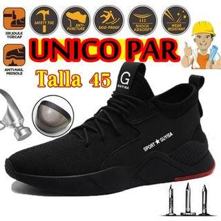 Zapatillas de seguridad fibra de Kevlar