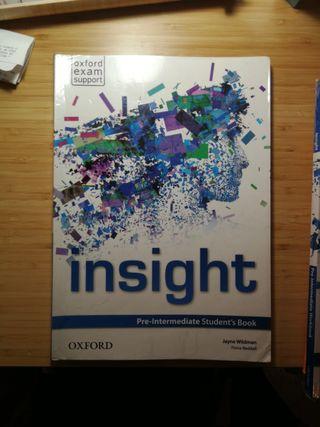 Libros inglés insight oxford