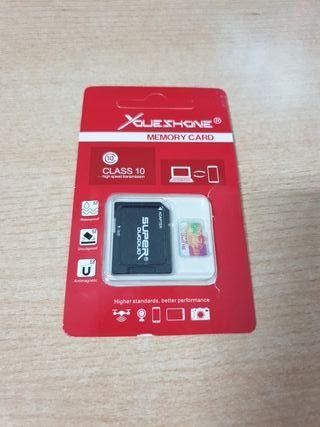 Tarjeta micro SD 32GB Class 10 nueva