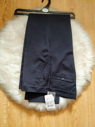 pantalón traje ,nuevo con etiqueta