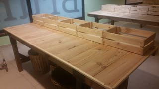 mueble rustico para fruteria o vario