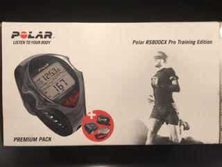 Pulsómetro Polar RS800CX Pro Training Edition