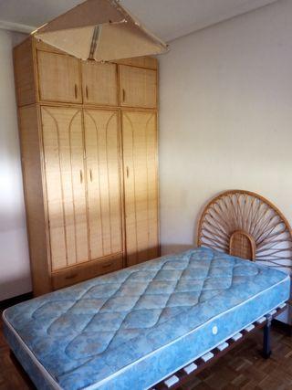 somier y colchón de 90cm