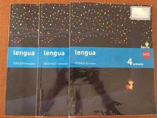 Libros lengua cuarto de primaria
