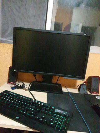 Monitor Benq Zowie xl2411 144hz.