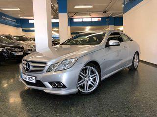 Mercedes Clase E Coupé 200CGI 185cv **PAQUETE AMG** SÓLO 79.000KMS!!!