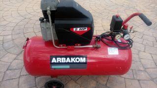Compresor de aire 50l. 2HP
