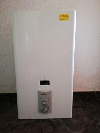 calentador, gas butano
