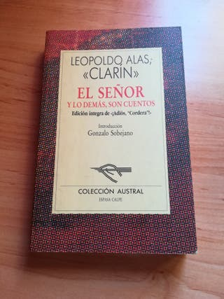 LEOPOLDO ALAS CLARIN.