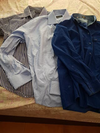 Lote 3 camisas