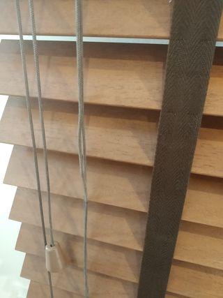 Cortinas de madera venecianas