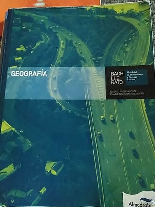 Libro geografía de 2° bachillerato