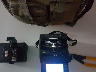 fusionadora fibra óptica KL500
