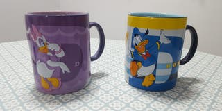 Tazas Disney de Donald y Daisy