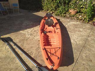Kayak rígido 3 plazas