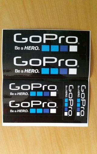 GoPro pegatinas