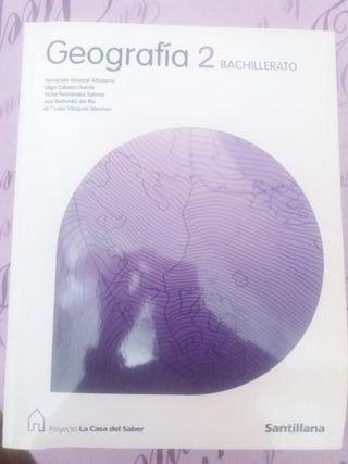 Libro Geografia 2° Bachillerato