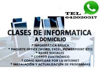 Clases de Informática PARA PERSONAS MAYORES