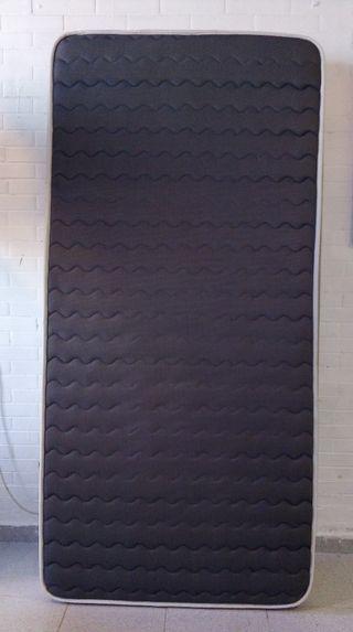 colchón viscoelástico 90cm