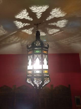 Farol para colgar estilo arabe