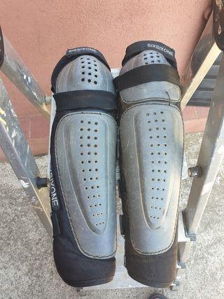 Protecciones rodillas y espinillas