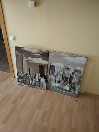 cuadros de Nueva York