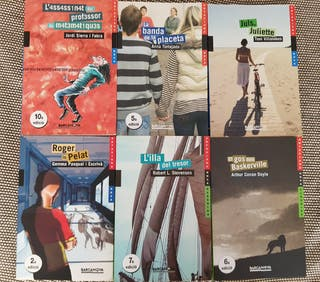 Libros de lectura catalán