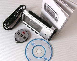 Reloj con camara de vigilancia y mando distancia