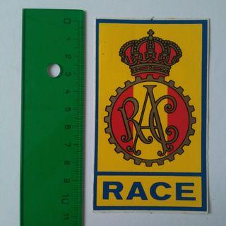 PEGATINA ADHESIVO DEPORTE RACE REAL AUTOMOvIL